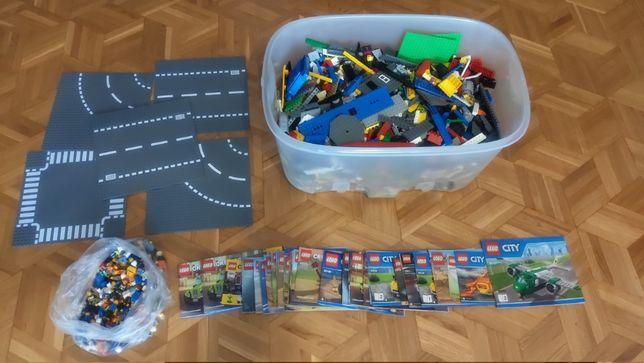 Sprzedam 9,7 kg klocków LEGO + instrukcje
