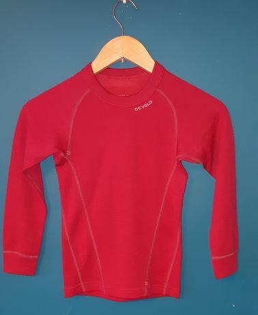 Bluzeczka z welna z merynosa, koszulka termiczna dwuwarstwowa Devold