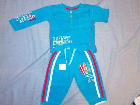 Komplet spodnie i bluzka rozmiar 62