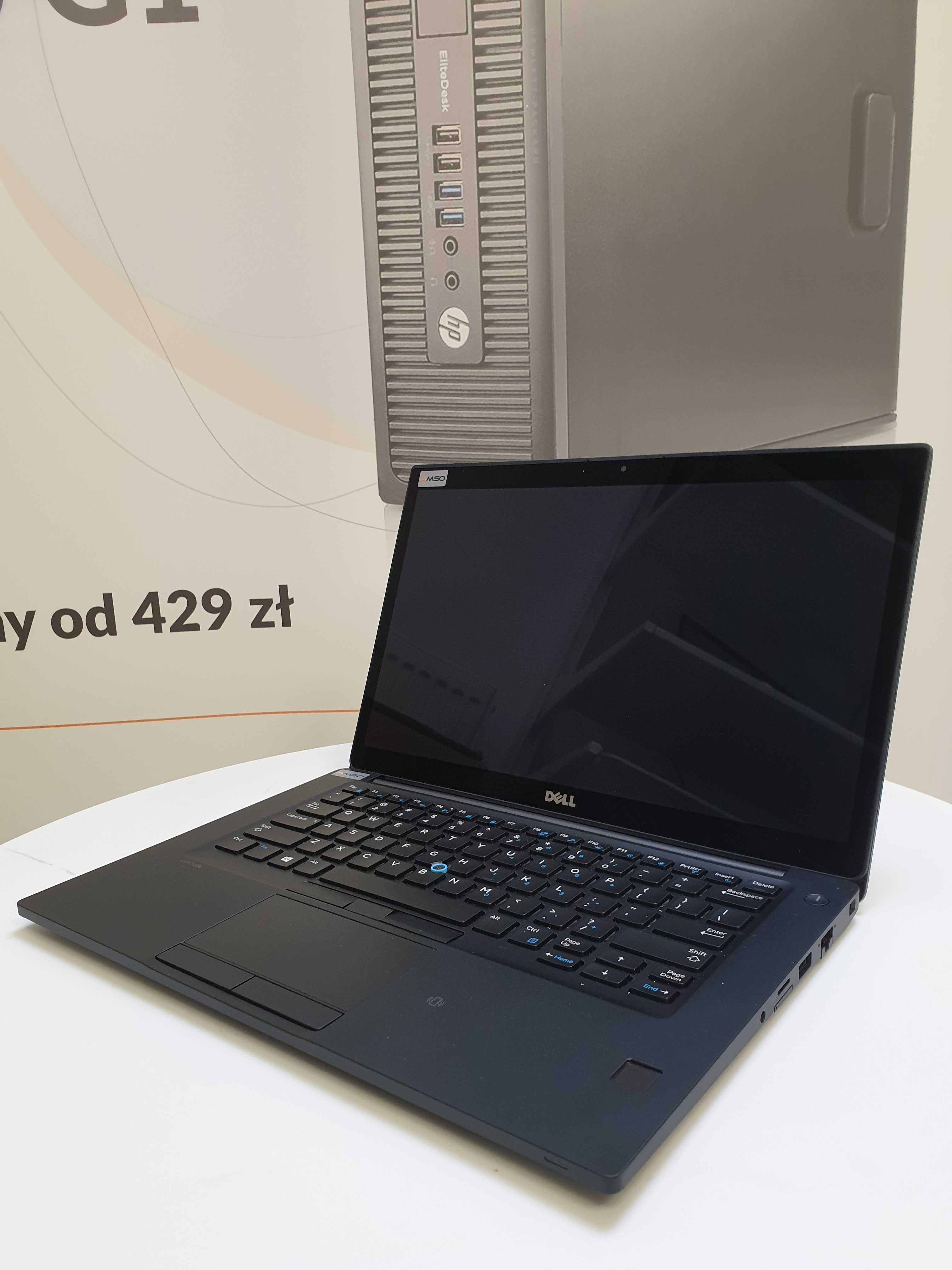 Dotykowy Dell Latitude 7480 i7-7600U 16GB 240GB SSD WIN 10 HOME QWERTY