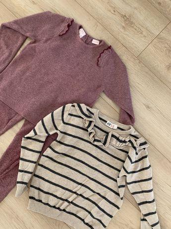 Sweterkowy zestaw + sweterek zara hm