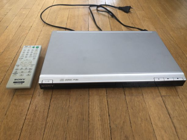 Sony DVP-SR100, dvd
