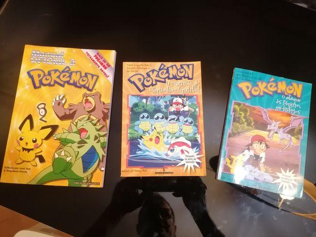 Manuel e revistas pokemon