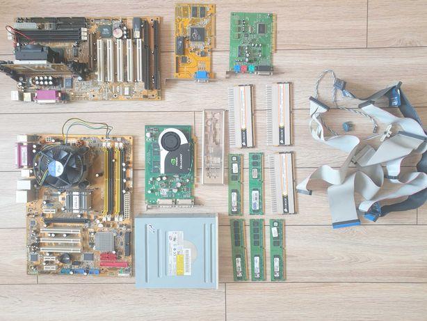 Części Płyta główna Ram Procesor Karta Graficzna OKAZJA