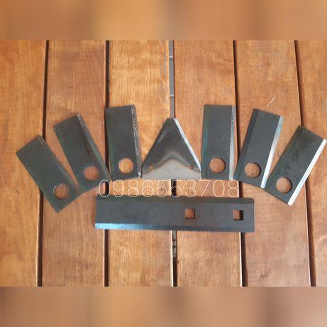Нож роторной косилки сталь 65 Г каленные качество!!!сегменты нож ПУН