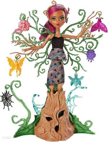 Mattel Monster High Treesa Leśna Nimfa 36cm