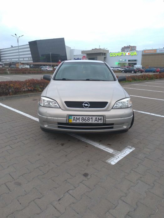 Opel Astra G 1.6 г/б Житомир - изображение 1