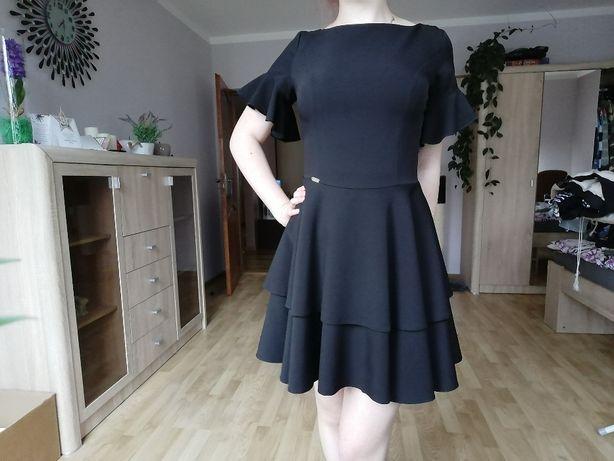 czarna sukienka Bergamo