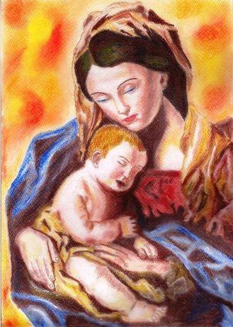 """Obraz """"Madonna z Dzieciątkiem"""""""
