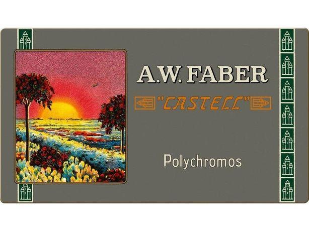 A.W. Faber Castell Polychromos Artists Colored Карандаши  Retro Tin 36