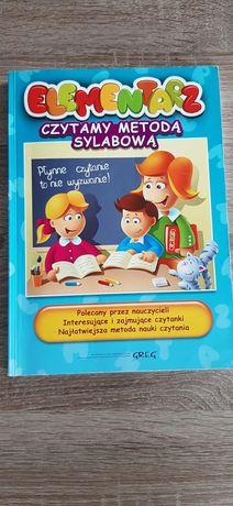 Czytamy metodą sylabową, wydawnictwo GREG