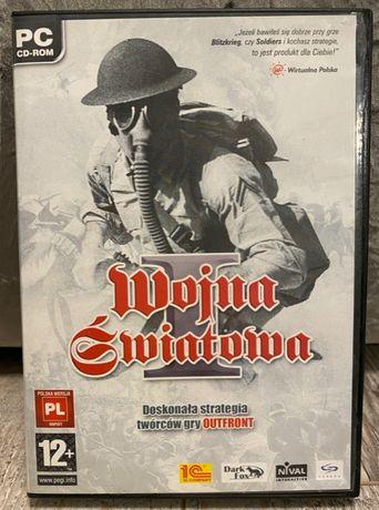 I WojnaŚwiatowa - gra PC - 2 płyty + instrukcja, stan bdb