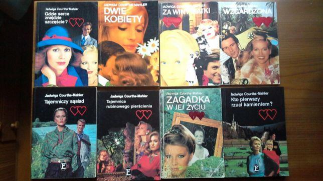 Kolekcja książek - Jadwiga Courths Mahler