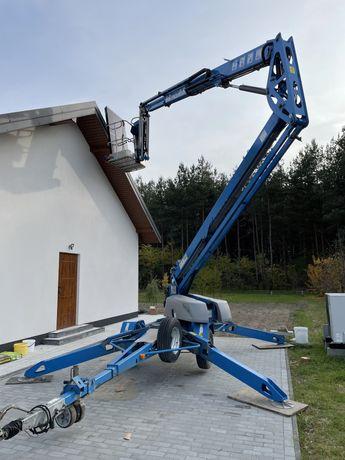 Rusztowania elewacyjne   ZWYŻKA18m podajnik do paneli fotowoltaicznych