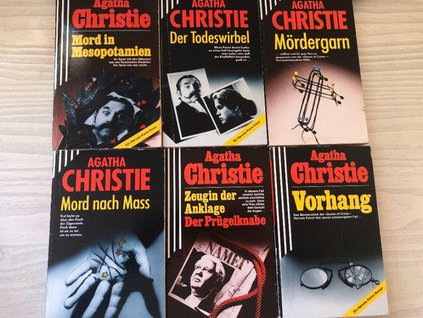 Agatha Christie Kryminały po niemiecku różne tytuły