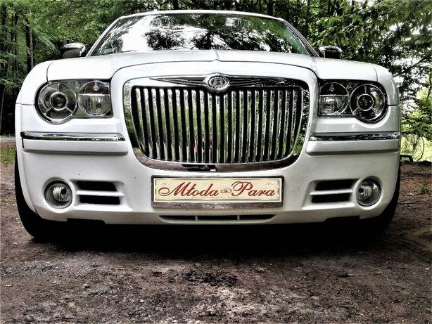 Auto do Ślubu- Amerykańska Limuzyna Chrysler 300C -Bentley-Limited