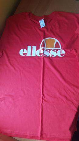 ELLESSE koszulka t-shirt roz. L