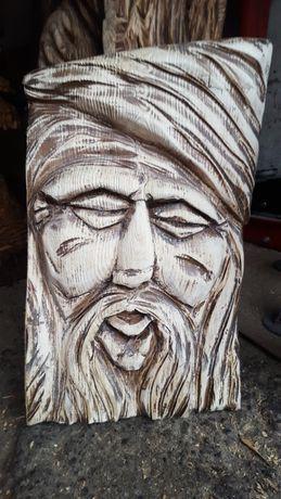 Rzeźba drewniana dziad