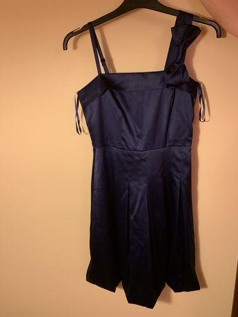 Sukienka granatowa rozmiar 36