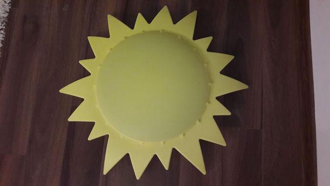 plafon lampka żyrandol słońce do dziecięcego pokoju
