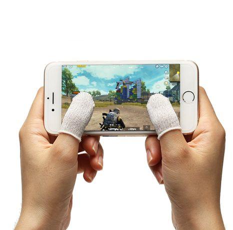 1 пара PUBG мобильный напальчник Seuno для смартфона игр fortnite ПАБГ