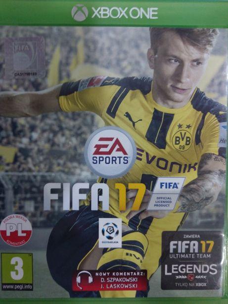 Fifa 17 PL Xbox One Używana Kraków