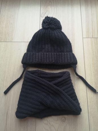 Zestaw Zara komin plus czapka 2-4