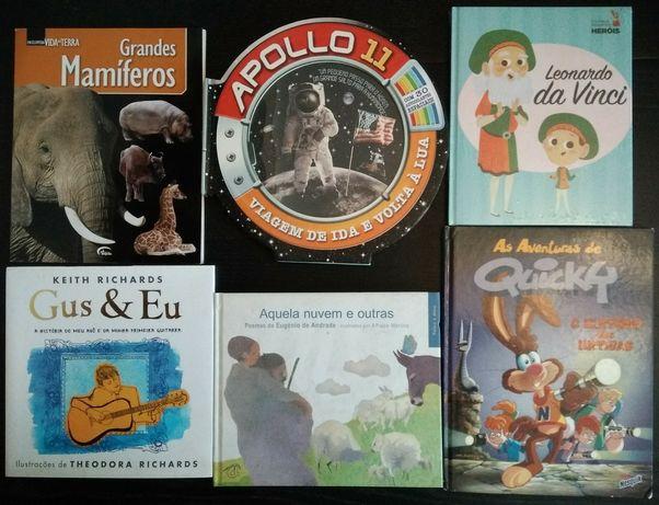 Livros e revistas infantis e juvenis desde €1