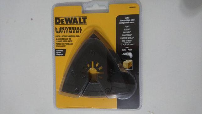 Шлифподошва треугольная DT20700 DWA4200 для DWE315, DCS355 DeWALT