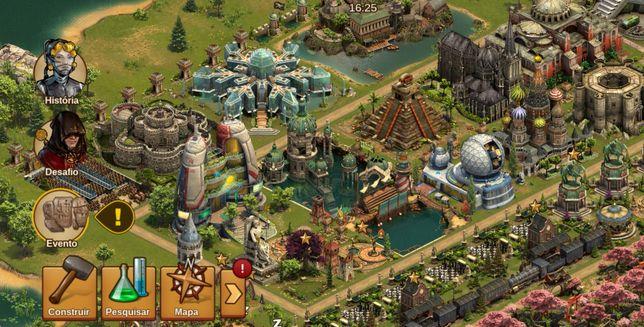Jogo Forge of Empires - FOE PT Arvahall