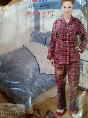Piżama Flanelowa,cienka