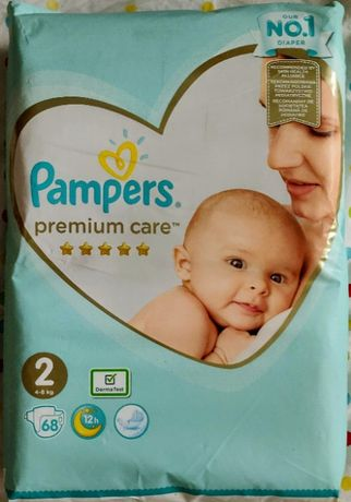 Подгузники Pampers Premium Care 2 (4-8 кг) 68 шт