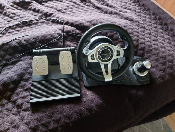 Kierownica XBOX/PS4/PC tracer roadster STAN IDEALNY
