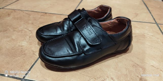 Туфли кожаные мальчуковые