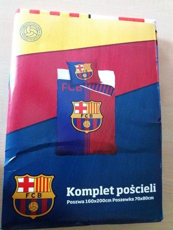 Pościel FCB Barcelona 160/200cm, Carbotex oryginał