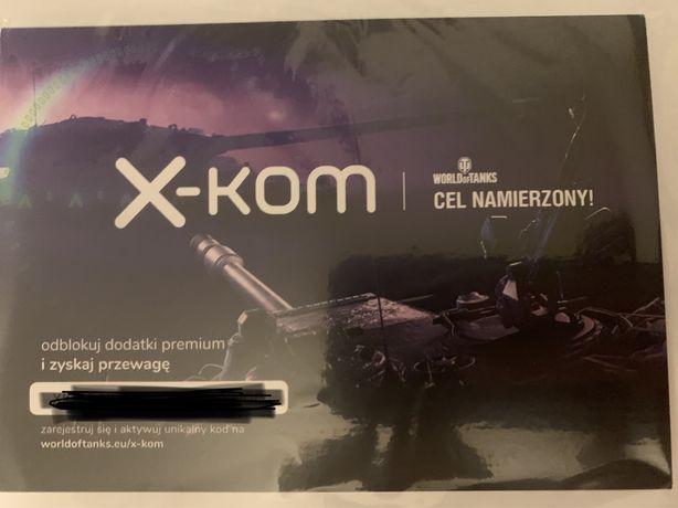 Kod premium World of Tanks
