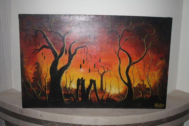 Pintura Queimada em Angola