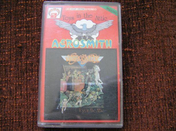 Aerosmith Toys in the Attic kaseta audio magnetofonowa