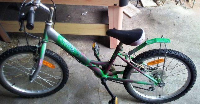 Rower dla kilkulatka koła 20