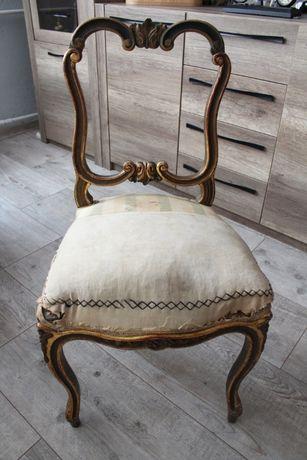 Krzesło do renowacji.