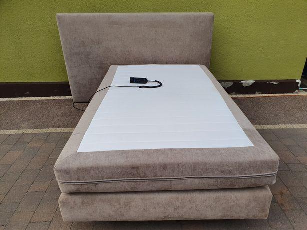 Łóżko elektryczne tapicerowane