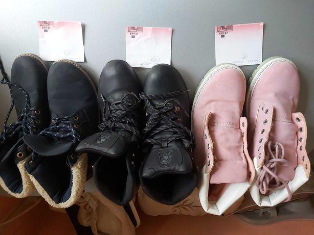 Женские ботинки 120 грн