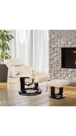 Fotel wypoczynkowy funkcja masażu grzania +pilot