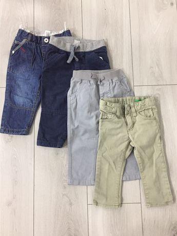 Zestaw spodni rozm 80, Benetton, c&a, F&F