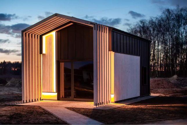 Dom na zgłoszenie 35 m2