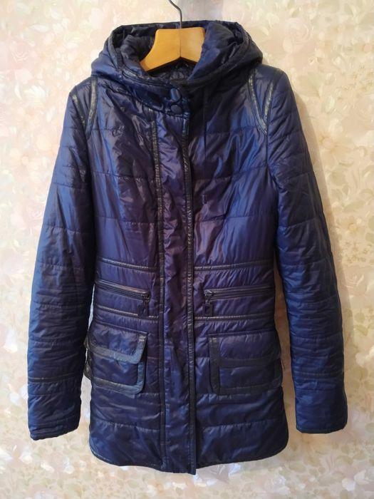 Жіноча куртка темно-синього кольору Ковель - изображение 1