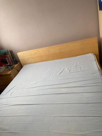 Łóżko Ikea z materacem 140/200