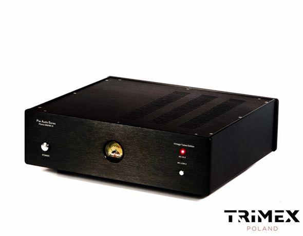 Pier Audio PRE PHONO MM MC przedwzmacniacz gramofonowy lampowy NOS