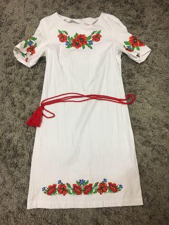 Плаття вишиванка + платтячко