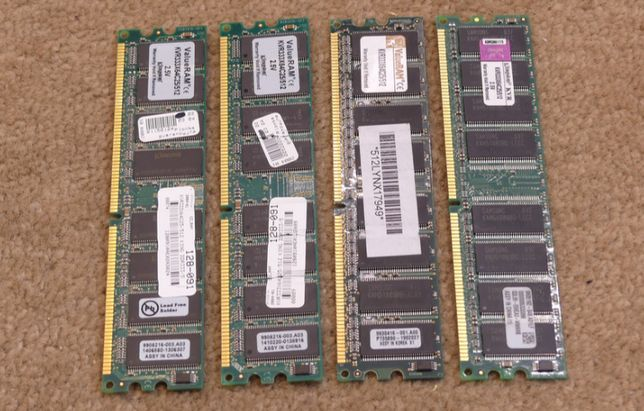 DDR CL2,5 512MB Kingston KVR333X64C25/51 - 4szt